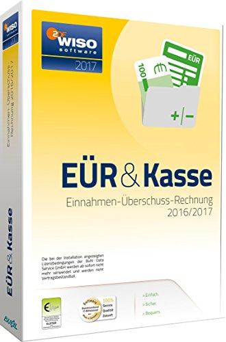 WISO EÜR & Kasse 2017: Einnahmen- Überschuss- Rechnung 2016/2017 Kasse Software