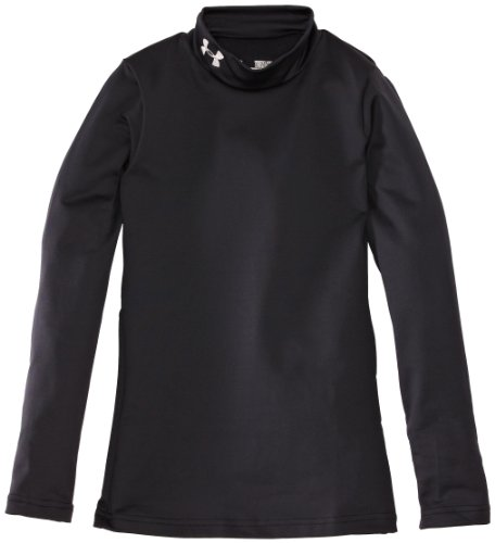 Under Armour Kinder Sweatshirt Evo CG Fitted Mock, schwarz 1, S YSM