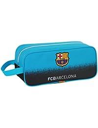 Safta Barça 3 Bolsa para Zapatos, Color Azul Turquesa