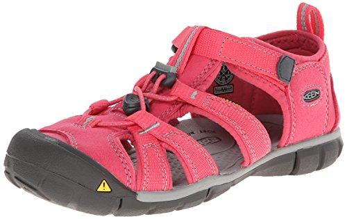 Keen Unisex-Kinder Seacamp II Cnx Sandalen, Pink (Honeysuckle/Neutral Gray), 36 EU