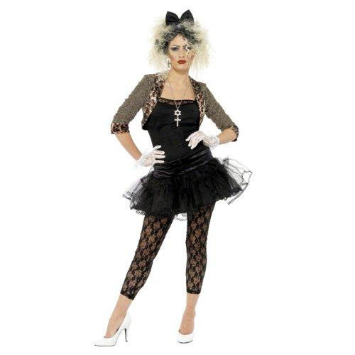 PARTY DISCOUNT NEU Kostüm Wild Pop-Queen, Einheitsgröße (Queen Of Pop Kostüm)