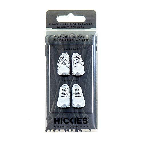 Hickies Original 1.0 elastische Schnürsenkel, unisex, Einheitsgröße, kein Schnüren erforderlich, für alle Schuhe (Versprechen Ringe Für Sie Unter 100)