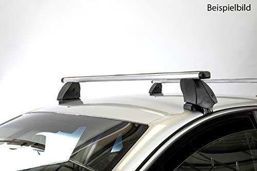VDP Dachträger K1 PRO Aluminium kompatibel mit Volkswagen Touareg (5Türer) 10-13