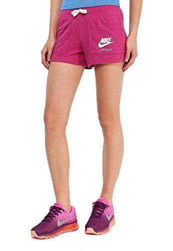 Nike W Nsw Gym VNTG Damen-Short S Rosa (Sport Fuchsia/Segel)