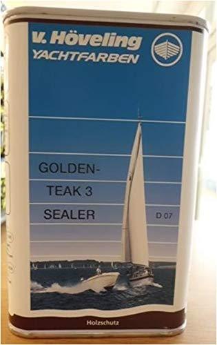 v. Höveling Golden Teak Sealer 3 Transparente Imprägnierung 1 Liter