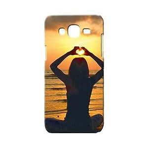 BLUEDIO Designer 3D Printed Back case cover for Samsung Galaxy E7 - G4506
