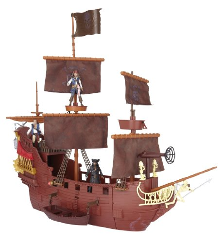 Pirates Of The Caribbean Queen Anne's Revenge Hero Ship Play Set [Toy] -