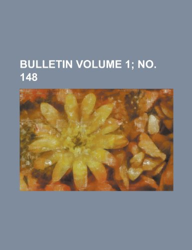 Bulletin Volume 1; No. 148