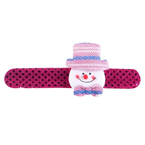 Kakiyi Sequin Clap Kreis Weihnachten Pat Hand Ring Chrismas Sankt Slap Bracele Geschenke
