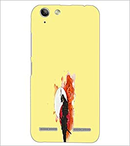 PrintDhaba Abstract Image D-4432 Back Case Cover for LENOVO VIBE K5 (Multi-Coloured)