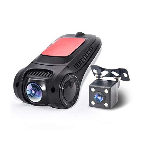 YTBLF Grabadora de conducción sin Pantalla WiFi Oculta 1080P Grabadora de Video...