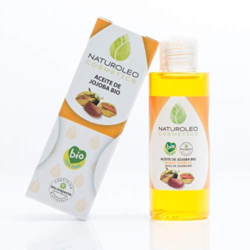Naturoleo Cosmetics - Aceite Jojoba BIO - 100% Puro