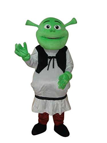 chsene Halloween Maskottchen Kostüm Kleid Cosplay Outfit (Shrek Halloween-kostüm)