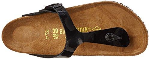 Birkenstock Gizeh 845191 Damen Zehentrenner Noir