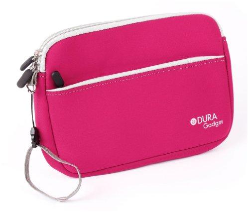 Preisvergleich Produktbild DuraGadget - Pinke Neopren Hülle | Case | Cover | Reiseetui - für Ihre Nintendo 2DS XL Spielkonsole