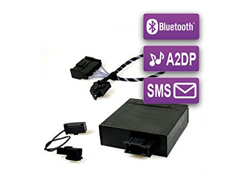 FISCON Bluetooth Umrüst-Set Basic-Plus (36496-1) für VW, Seat & Skoda mit UHV Low/Premium