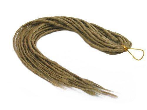 Elysee star dreads # 24biondo naturale dreadlocks doppio sintetico dread