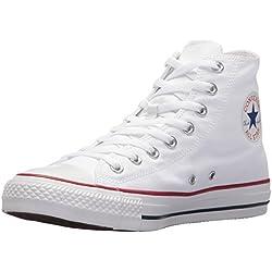 Converse All Star Hi Canvas, Sneaker, Unisex - Adulto, Bianco (Optical White), 39 EU