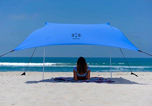 Sand anchor-tenda da spiaggia con tettuccio parasole, 82