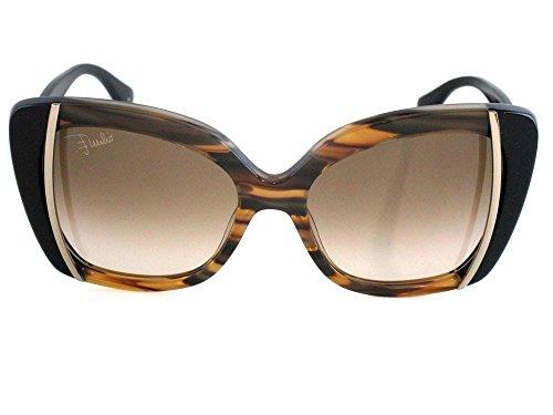 Emilio pucci occhiali da sole ep-741s-265 marrone