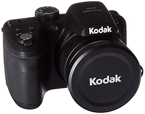 Kodak AZ401bk Point & Shoot Digital Camera avec écran LCD 7, 6 cm, Noir