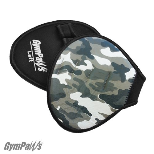 Guanto da Palestra Alternativo - Guanto da Crossfit in Pelle - Guanti da Workout (Camo)