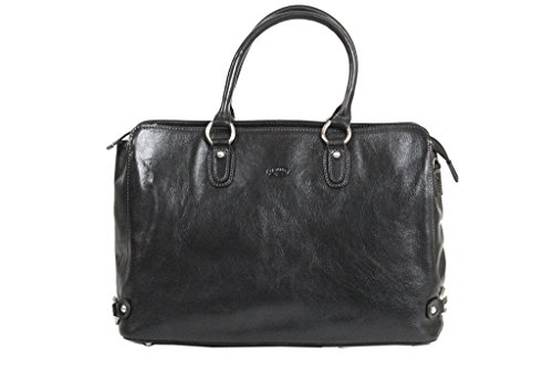 Sac shopping Katana Cuir de Vachette Collet K82618 Noir