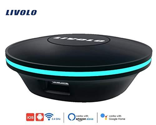 Universal-Fernbedienung LIVOLO durch Infrarot, funktioniert mit Alexa und mit dem Handy. Sie können Ihren TV, Klimaanlage, DVD steuern -