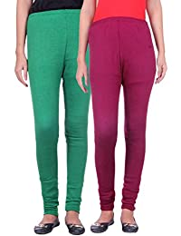 Belmarsh Warm Leggings - Pack of 2 (Green_Mouve)