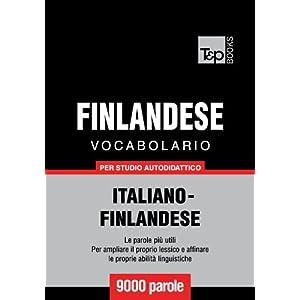 Vocabolario Italiano-Finlandese per studio autodid