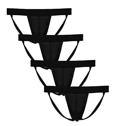 Summer Code Herren Sexy Strings mit Ausbuchtung Bikini Jockstrap Elastisches Thong -