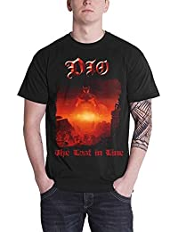 Dio T Shirt The Last in Line Album Cover Ronnie James Official Mens Black