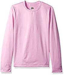 Duofold Big Girls Mid Weight Varitherm Thermal Shirt Ice Cake Medium
