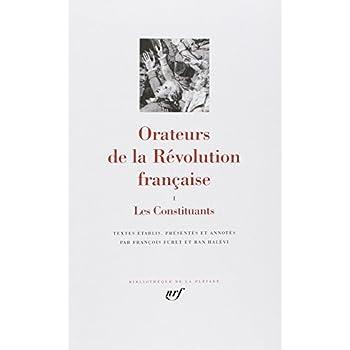 Orateurs de la Révolution Française