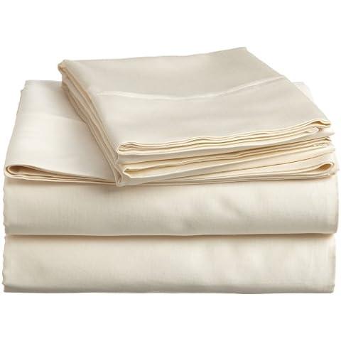 Impressions, 400 Thread Count, Set di lenzuola in cotone egiziano,