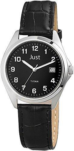 Just Watches - Orologio da polso, analogico al quarzo, pelle, Uomo