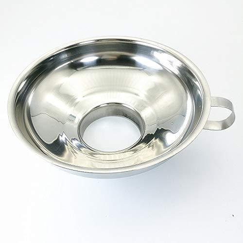 SHUFAGN,Trichterfilter Küchenchef-Werkzeug Edelstahl Weithalsflüssigkeit Dosen Transfer Gadget(color:SILBER)
