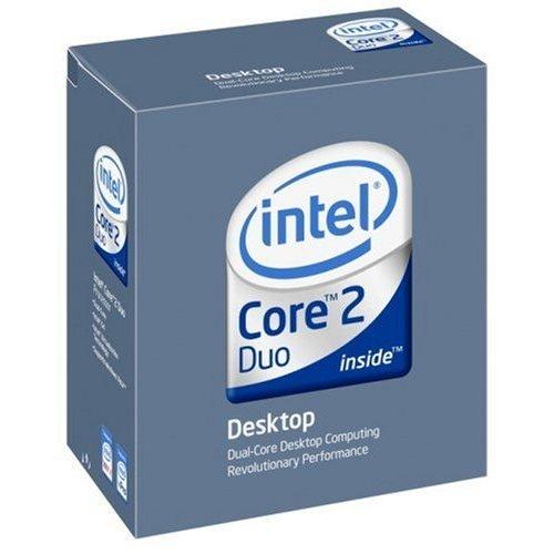 Intel Core 2 Duo Prozessor E7400 Box (2,8 GHz, Sockel 775, 3 MB L2-Cache) Intel Core 2 Duo 64 Bit