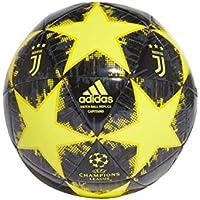 Adidas Finale18Juvecpt, Pallone Unisex – Adulto, Shoyel/Yellow/Carbon, 5