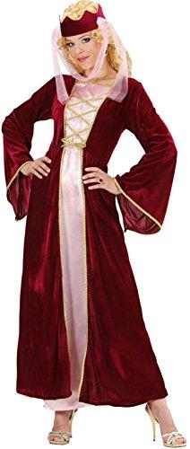 WIDMANN 89533 - Costume da Regina Medievale, in Taglia L