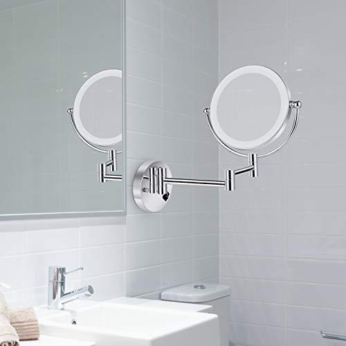 Specchio Per Trucco Da Parete.Specchio Trucco Maycho Specchio Da Parete Con Luci Led Specchio