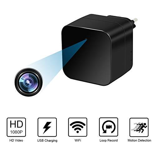 Esta cámara de cargador de pared usb tiene un estenopopeo oculto y video en color HD, resolución de video 1920 x 1080P, que le permite ver exactamente lo que está sucediendo cuando no está en su casa, oficina, negocio o dondequiera que necesite segur...