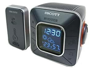 Scott CXT 20 Radio-réveil avec Station Météo