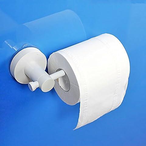 titular de papel higiénico/dispositivo de soporte de rodillo de succión fuerte/sostenedor de papel higiénico creativo/cajas de pañuelos de baño a prueba de