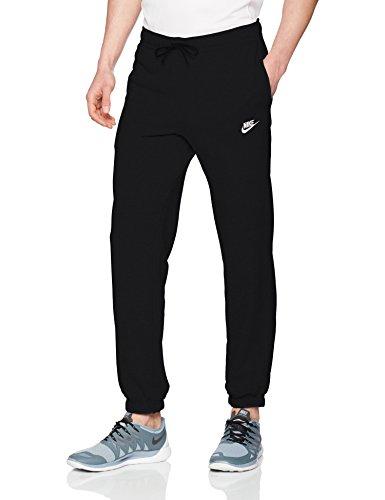 Nike M Nsw Pant Cf Ft Club - Hose Herren, Farbe negro - (black/white)