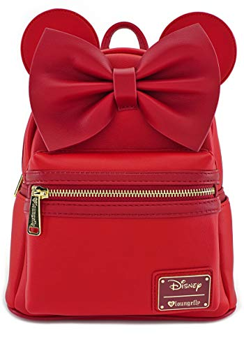Loungefly Disney Rucksack Backpack Daypack Minnie Mouse rot mit Schleife WDBK052