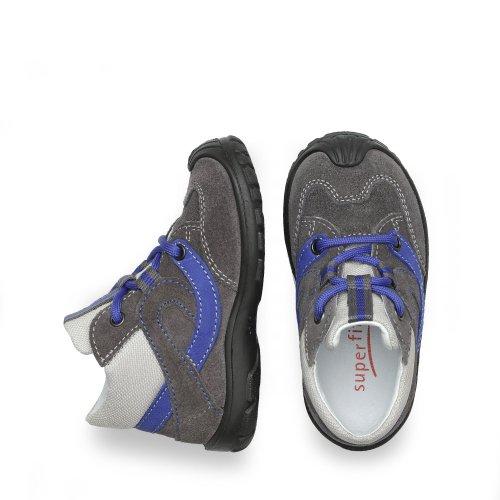 Superfit , {Chaussures premiers pas pour bébé (garçon) stone-kombi Gris - Gris