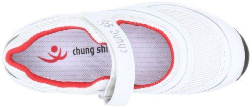 Chung Shi AuBioRiG Comfort Step Yvonne 9102235, Ballerines femme Blanc-TR-C1-33
