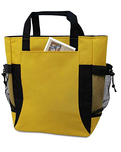 UltraClub by Liberty Bags, Borsa tote donna YELLOW/ BLACK