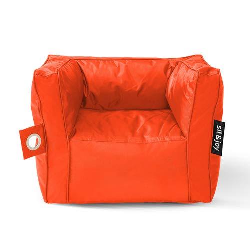 Sit Joy Zitzak.Sit Joy Zitzak Primo Orange Amazon Co Uk Kitchen Home